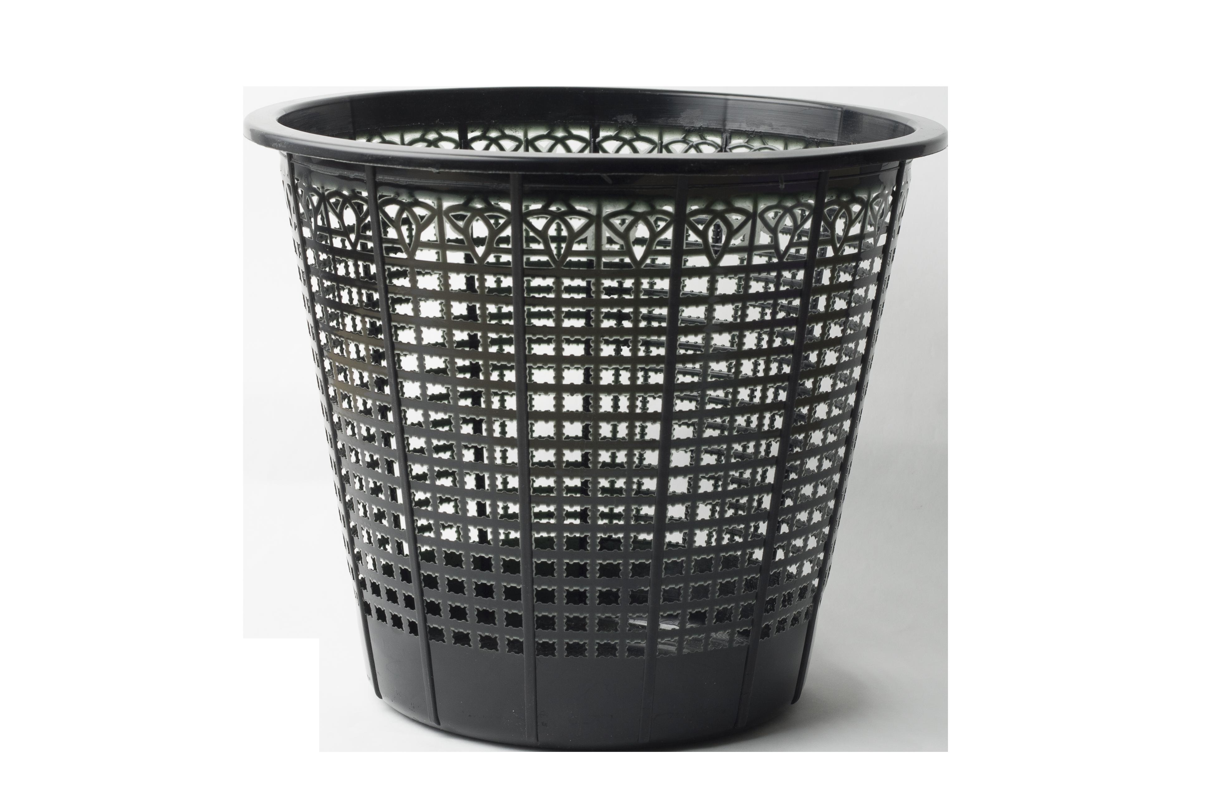 Корзина для бумаг пластиковаяАРНИКА 6.9 л, черный