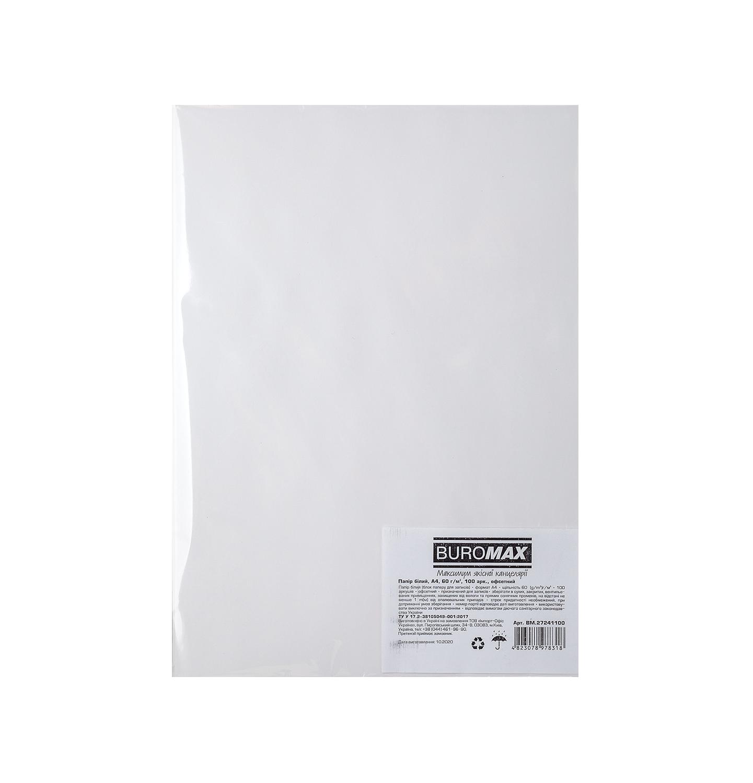 Офисная бумага BuromaxА4,60 г/м2, 100 листов