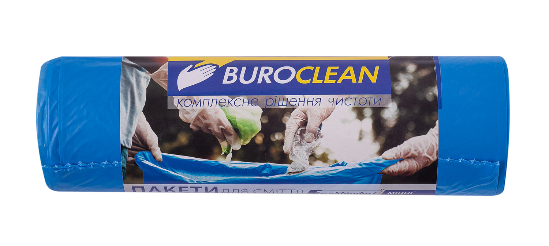 Пакеты для мусора BuroClean EuroStandart прочные 160 л, 10 шт