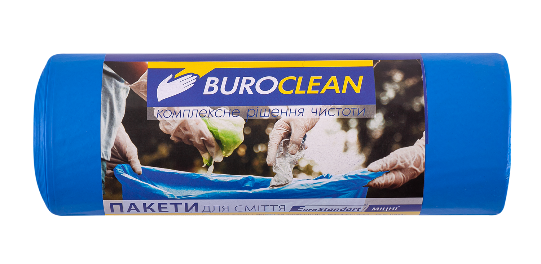 Пакеты для мусора BuroClean EuroStandart прочные 240 л, 10 шт