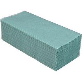 Полотенца макулатурные V-образные, 160 шт, зеленые