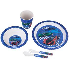 Набор посуды из бамбука Kite Racing, 5 предметов
