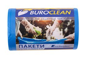 Пакеты для мусора BuroClean EuroStandart прочные 35 л, 100 шт