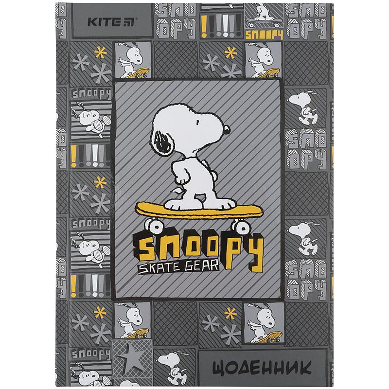 Дневник школьный KITE В5, 42 листа, Peanuts Snoopy-2