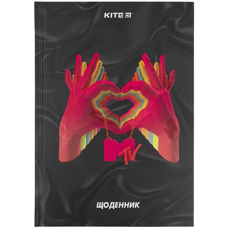 Дневник школьный KITE В5, 42 листа, MTV-1