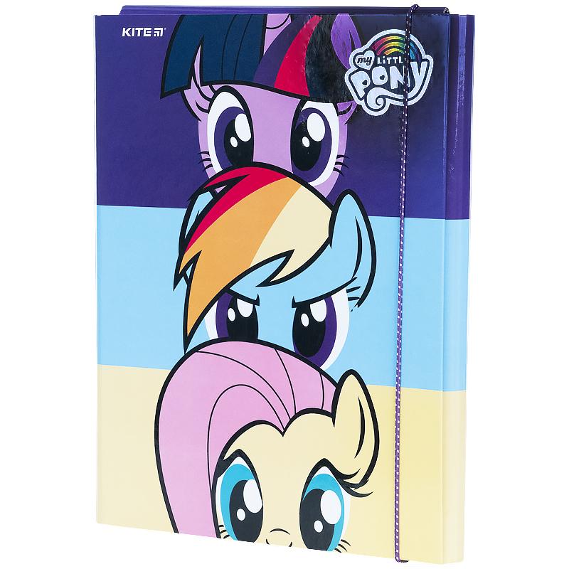 Папка для труда на резинке KITЕ My Little Pony, А4