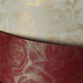 Картон дизайнерский Galeria Papieru ROSES 250 г/м2, 20 шт, бордовый