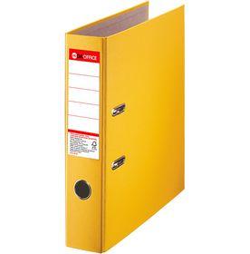 Папка-регистратор DA А4, 75 мм, РР, желтый