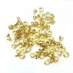 Заклепки (люверсы) 5.0 мм, золото, 1000 шт