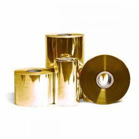 Пленкарулонная PET металлизированная 500 мм, 2000 м, 22 мкм, золото