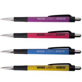 Ручка шариковая автоматическая Buromax WISE, 0.7 мм