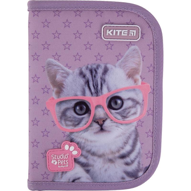 Пенал жесткий Kite Studio Pets, 1 отделение, 1 отворот