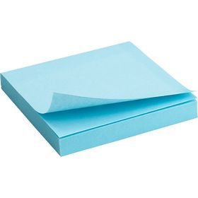 Блок бумаги для заметок Axent 75x75 мм, склеенный, пастельный синий