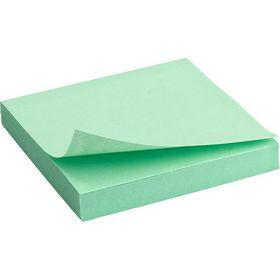 Блок бумаги для заметок Axent 75x75 мм, склеенный, пастельный зеленый