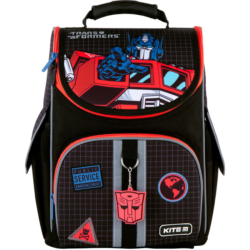Рюкзак каркасный Kite Education  501 Transformers - №1
