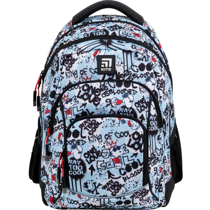 Рюкзак Kite Education teens 814M Peanuts Snoopy - №1