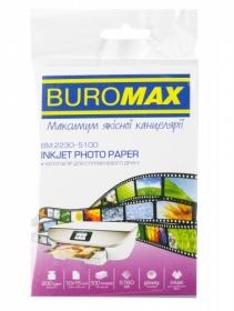 Фотобумага глянцевая 10х15 см, 200 г/м2, 100 листов