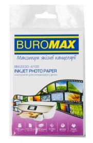 Фотобумага глянцевая 10х15 см, 180 г/м2, 100 листов