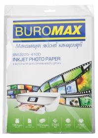 Фотобумага матовая А4, 180 г/м2, 100 листов