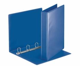 Папка Панорама на кольцах Panta Plast А4, 70 мм, 4D, PVC, темно-синий