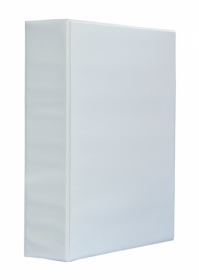 Папка Панорама на кольцах Panta Plast А4, 70 мм, 4D, PVC, белый