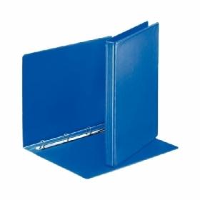 Папка Панорама на кольцах Panta Plast А4, 40 мм, 4D, PVC, темно-синий