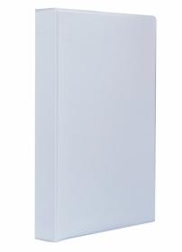 Папка Панорама на кольцах Panta Plast А4, 40 мм, 4D, PVC, белый