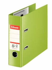 Папка-регистратор Esselte No.1 Power Банковский формат 75 мм, зеленый