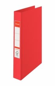 Папка на кольцах Esselte Standard А4, 42 мм, 4R, PP, красная