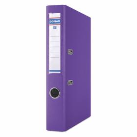 Папка-регистратор Donau PREMIUM A4, 50 мм, РР, фиолетовый