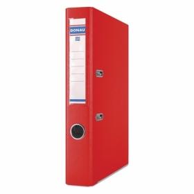 Папка-регистратор Donau PREMIUM A4, 50 мм, РР, красный
