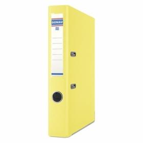 Папка-регистратор Donau PREMIUM A4, 50 мм, РР, желтый