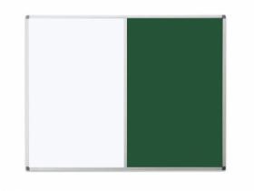 Доска комбинированная магнитно-маркерная/для мела UkrBoards  35х50 см