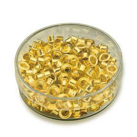 Заклепки (люверсы) 4.8 мм, золото, 200 шт