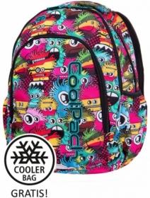 Рюкзак с термосумкой CoolPack PRIME Wiggly Eyes Pink