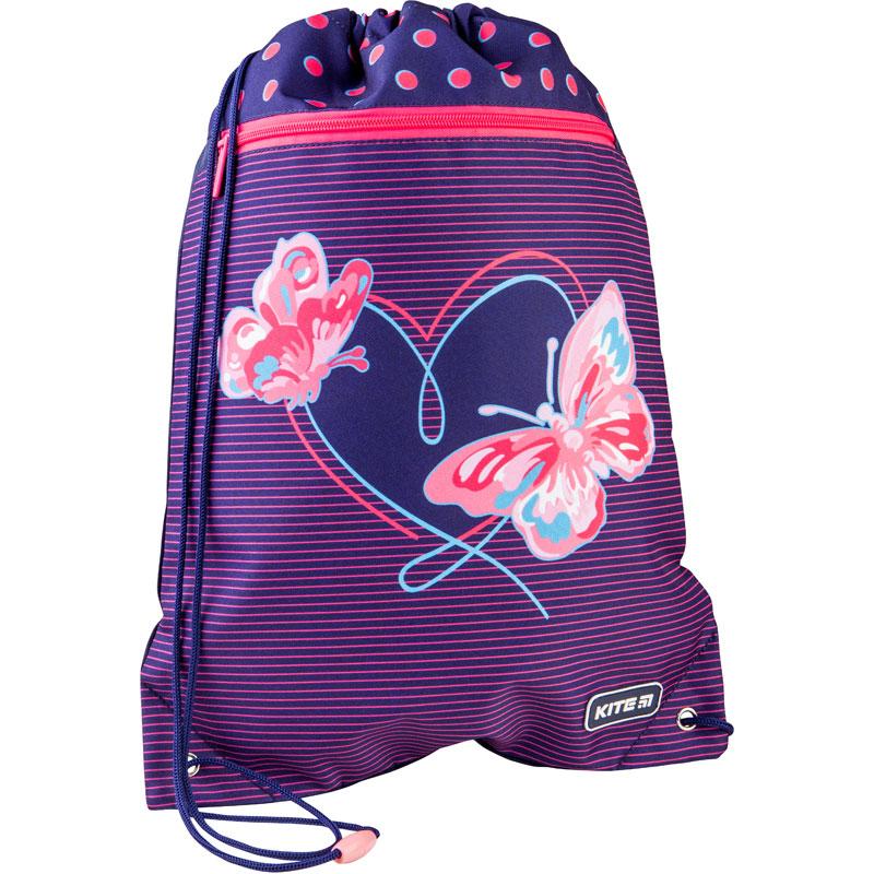Сумка для обуви с карманом KITE  Butterflies - №3