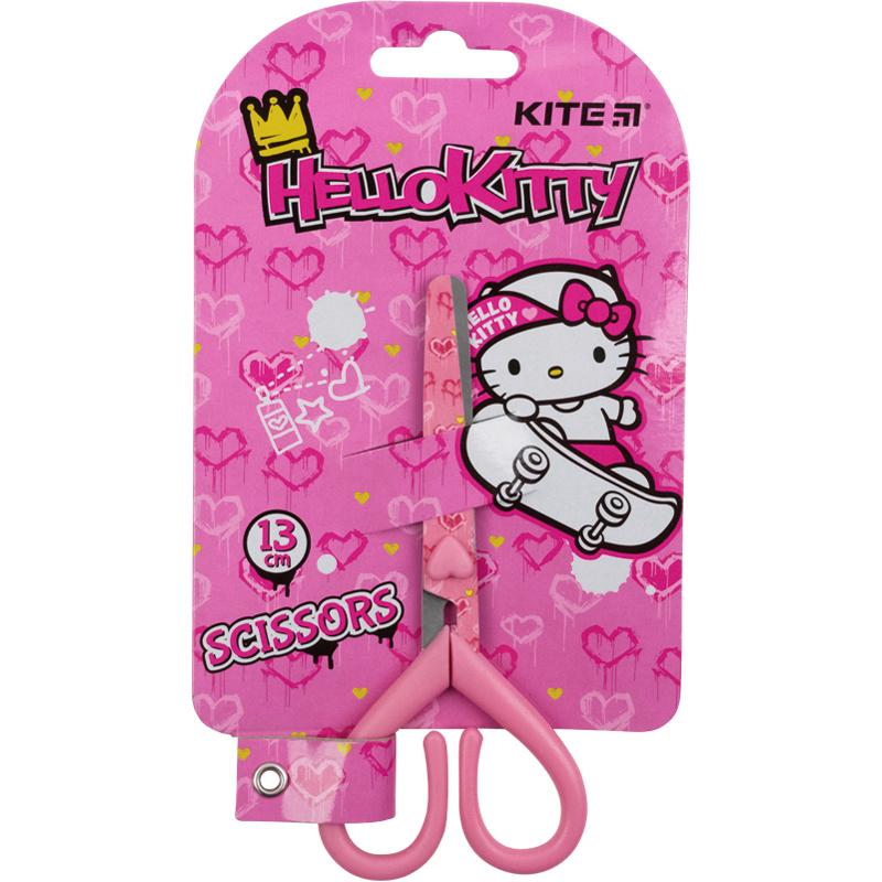 Ножницы детские KITE 13 см, розовые