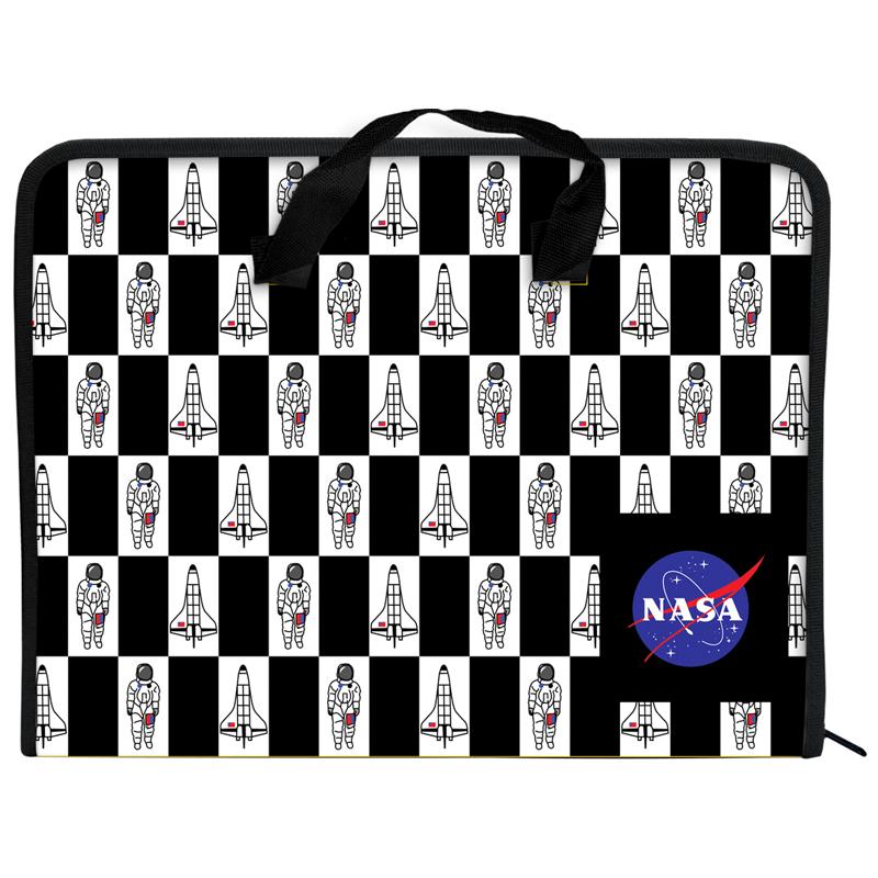 Пластиковый портфель KITE NASA А4, 1 отделение