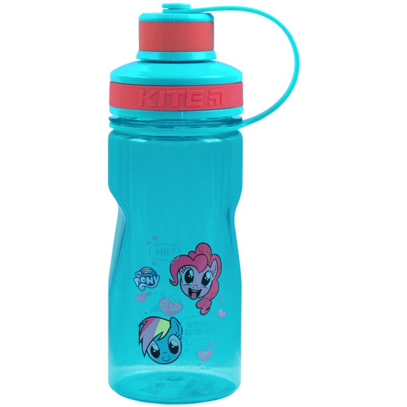 Бутылочка для воды КІТЕ My Little Pony 500 мл,бирюзовая