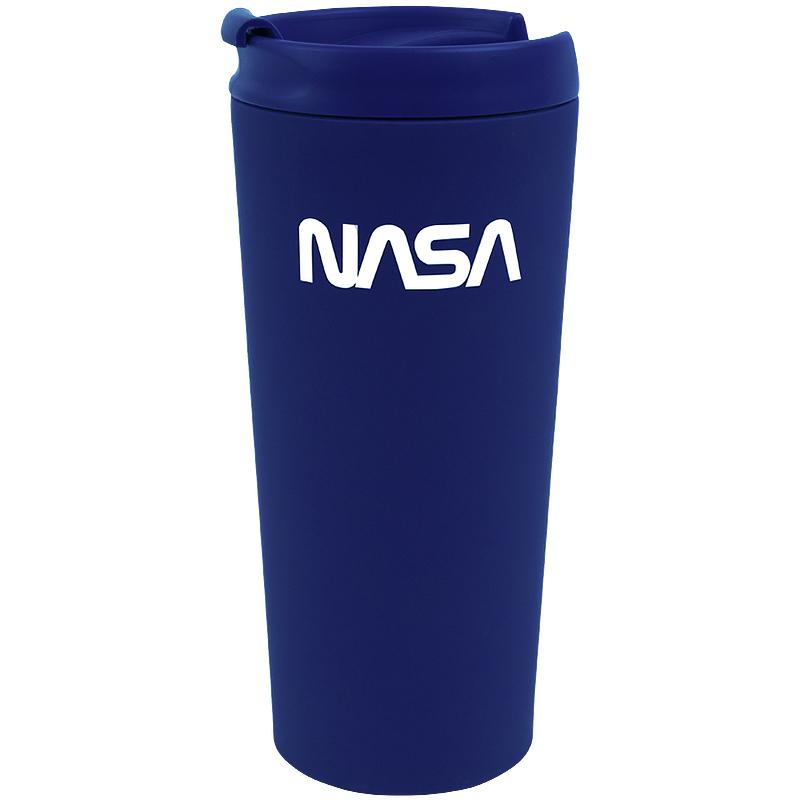Термокружка Kite NASA 440 мл,синяя