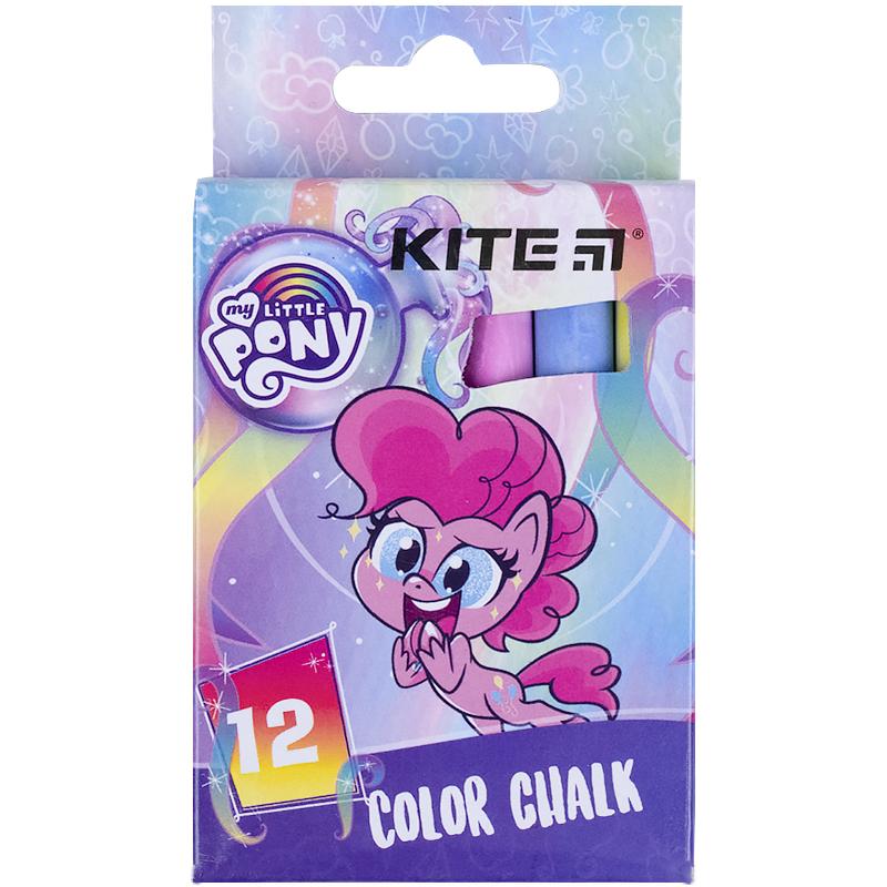 Мел цветной KITE Jumbo My Little Pony, 12 шт