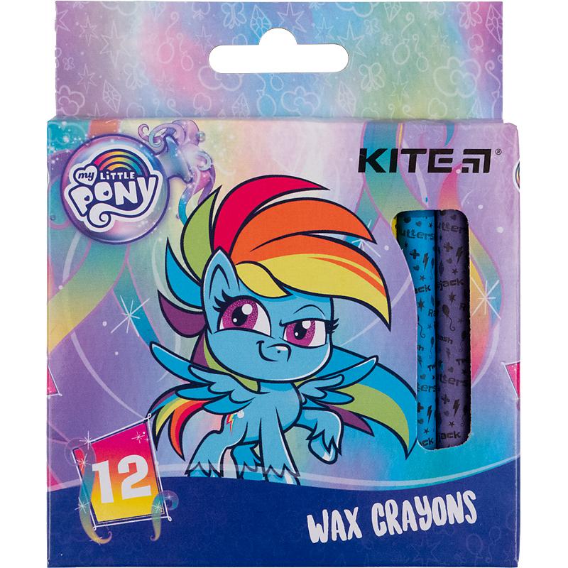 Карандаши-мелки цветные восковые KITE My Little Pony, 12 цветов