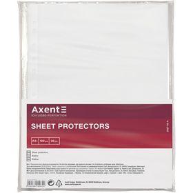 Файл для документов Axent А4+, 30 мкм, 100 шт