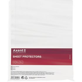 Файл для документов Axent А5, 40 мкм, 100 шт.