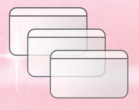 Файл для пластиковых карт Panta Plast 90х60 мм