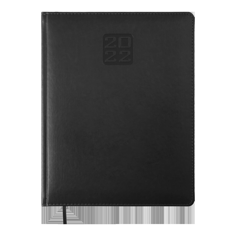 Еженедельник датированный 2022 BuromaxBRAVO(Soft),черный