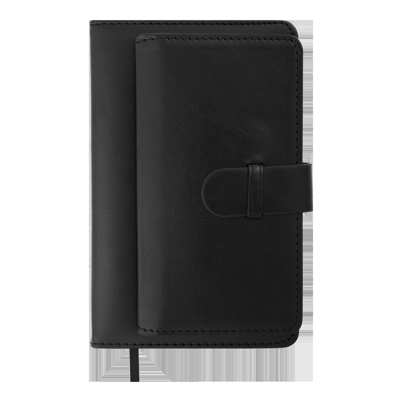 Ежедневник датированный 2022 Buromax EPOS, черный