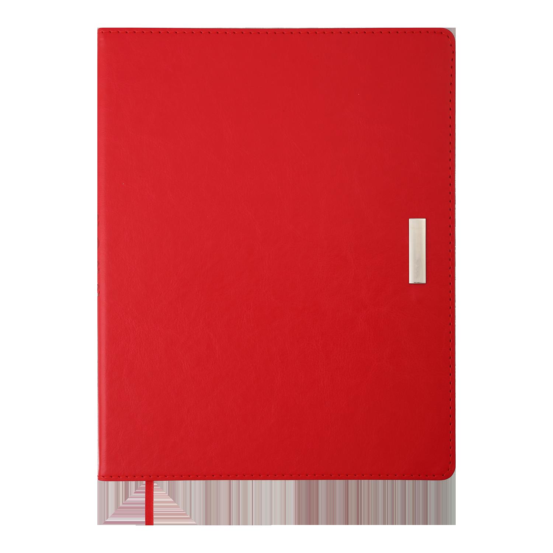 Ежедневник датированный 2022 Buromax SALERNO, красный