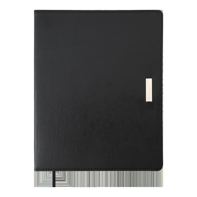 Ежедневник датированный 2022 Buromax SALERNO, черный