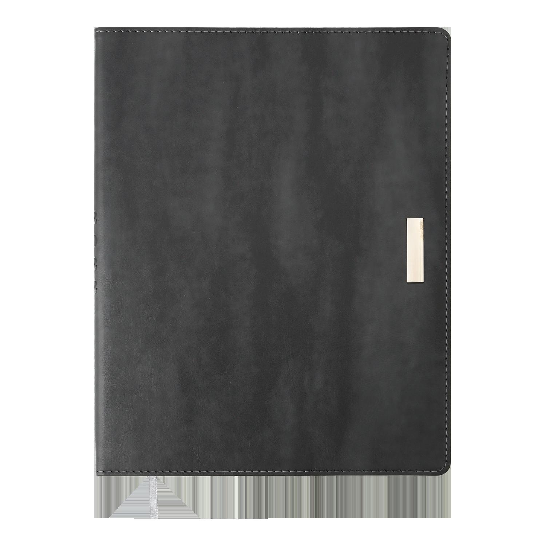 Ежедневник датированный 2022 Buromax SALERNO, серый